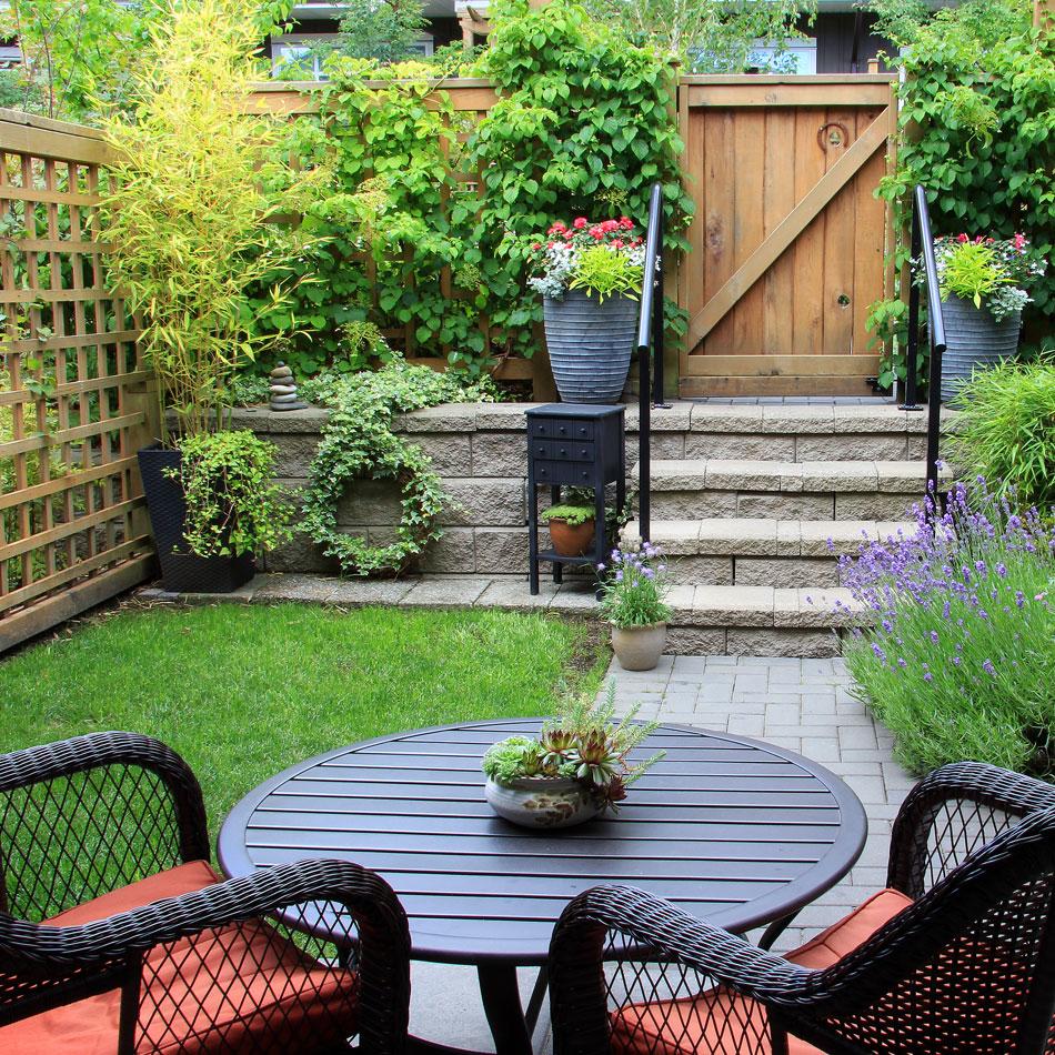 Garden Scene Walthamstow