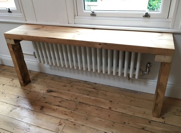 Recycled Wood Bench
