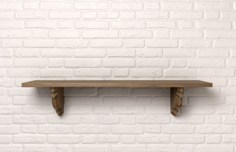 Shelf on a Wall