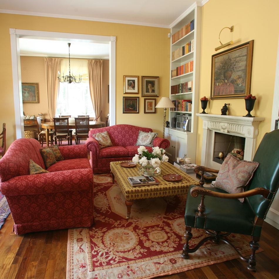 Living room scene Walthamstow