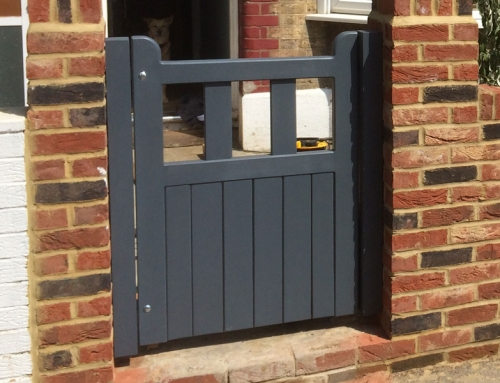 Fitting A Garden Gate