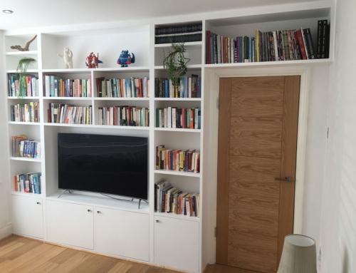 A Wall of Shelves