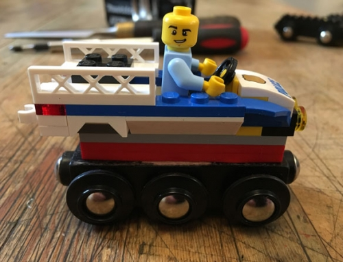 How to Make a Lego Wooden Train