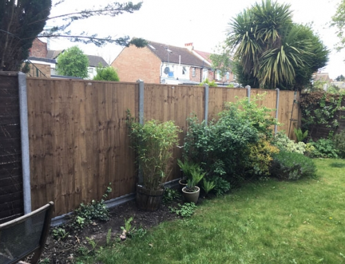Fence in North Finchley